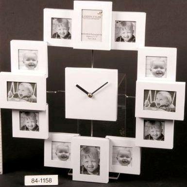 Фоторамка с часами настенная своими руками
