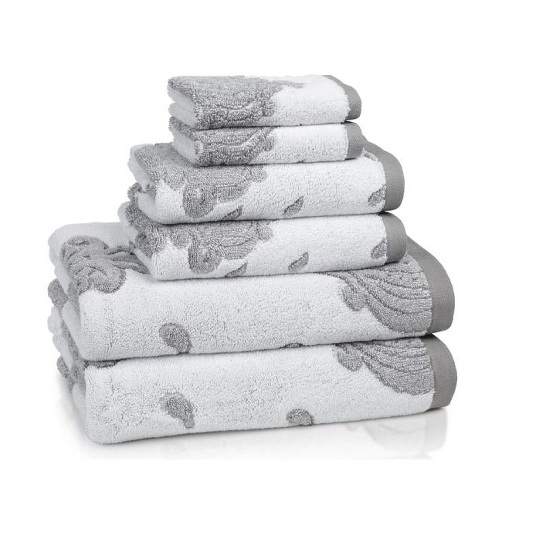 """Полотенце для рук """"Roma Tile Grey"""""""