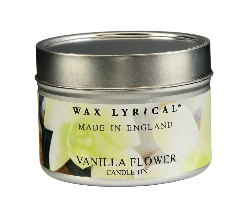 Сливочная ваниль ароматическая свеча в алюминии