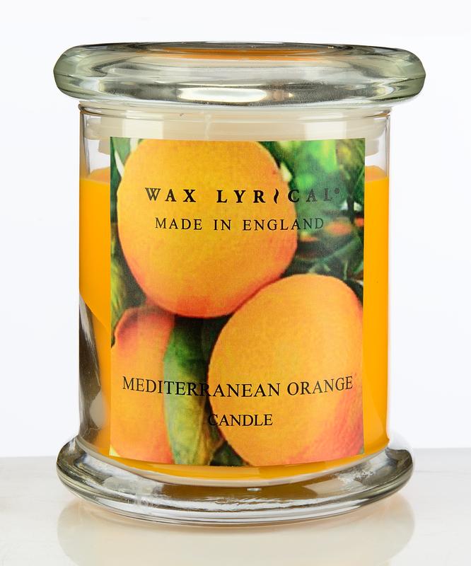 Солнечный апельсин ароматическая свеча бол.