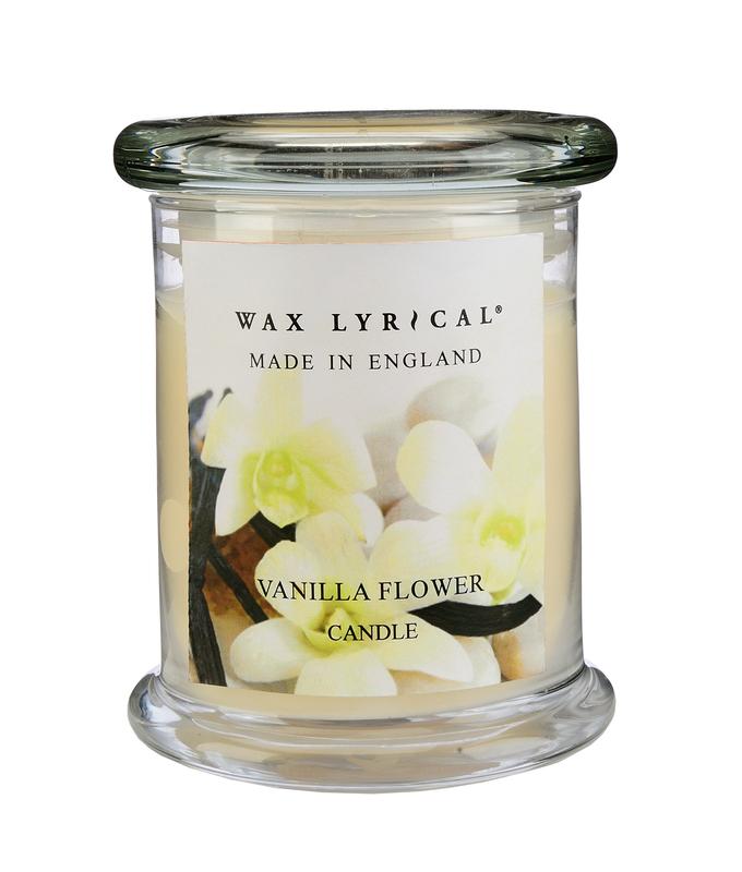 Сливочная ваниль ароматическая свеча бол.