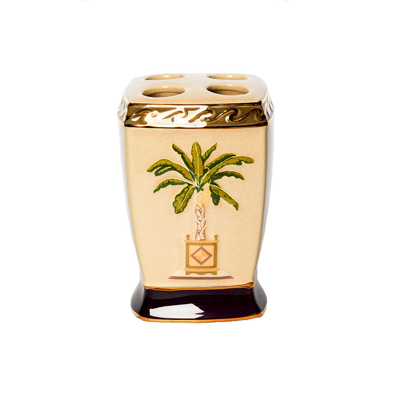 Стакан для зубных щеток Banana Palm